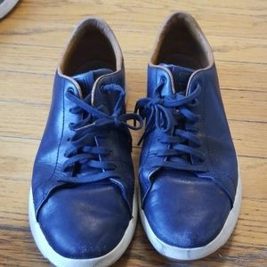 Mens Cole Haan Leather Sneakers